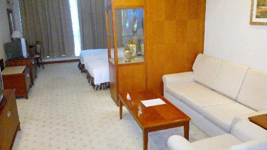 Metropark Hotel Shenzhen: Got sofa