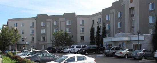 TownePlace Suites Denver Downtown: vor dem Hotel