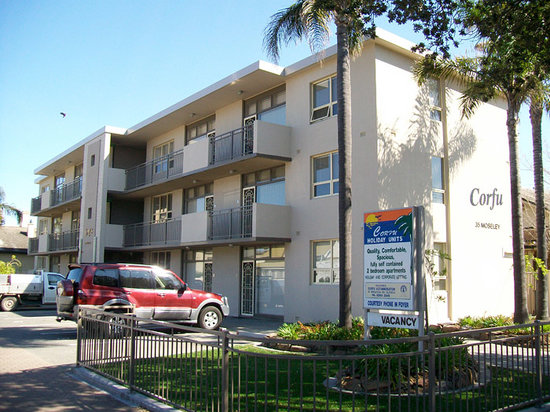 Corfu Holiday Units, Glenelg, South Australia