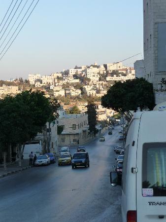 Angel Hotel: Blick in Richtung Bethlehem; selbst für Fußkranke ist der Marsch relativ unproblematisch trotz d