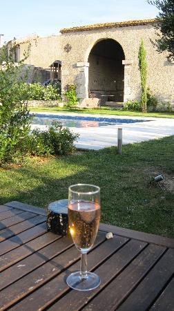 Le Relais de Ventenac: Drink poolside