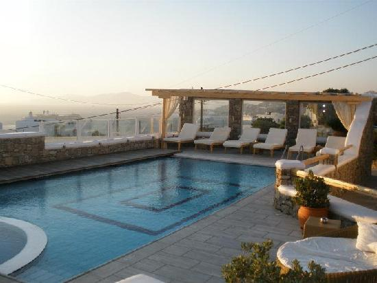 Damianos Hotel: the pool