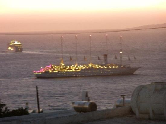 Damianos Hotel: sunset to pool's Damianos