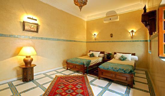 Riad Le Marocain: chambre dble