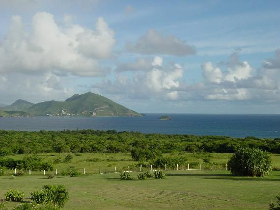 The Mount Nevis Hotel: view from balcony