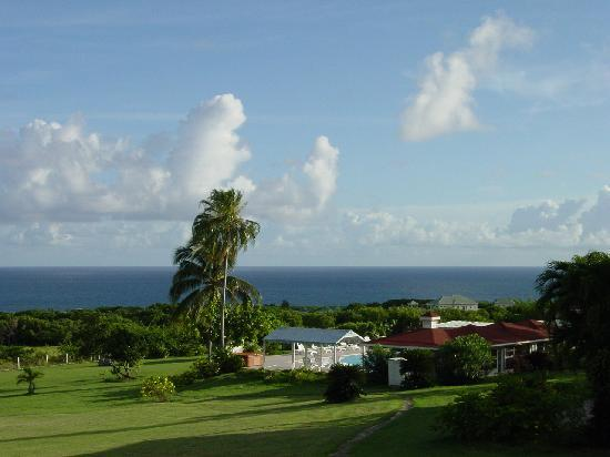 The Mount Nevis Hotel: view from other balcony