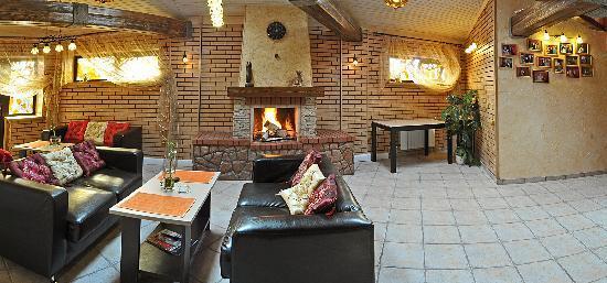 Tolyatti, Russie : fireplace