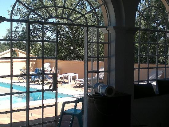Finca Buenvino: View from the pool house room