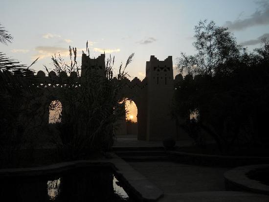 Auberge Merzane: Sunset