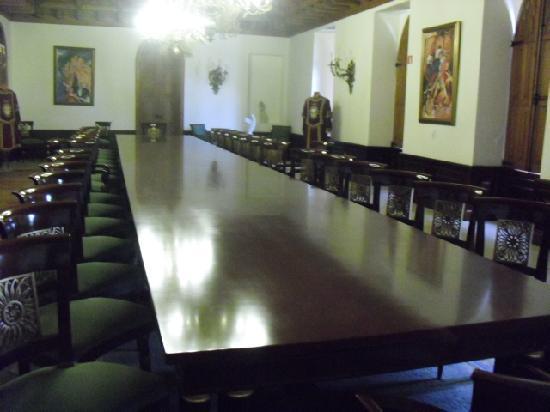 Castelo de Soutomaior: Comedor Castillo