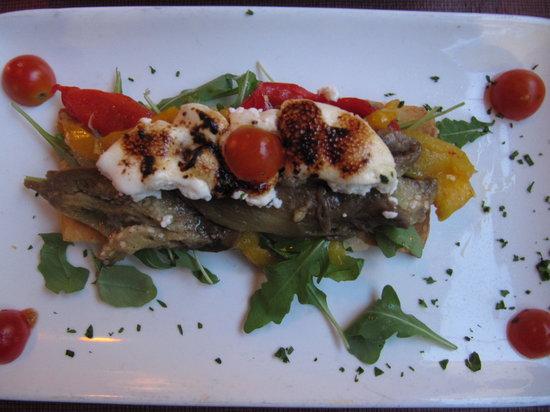 Dostrece : Grilled Vegs on Flat Bread