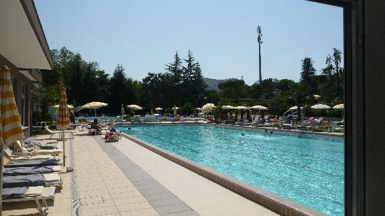 Continental Terme Hotel: grande piscine à 28° toute l'année
