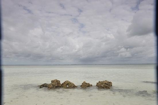 Uroa White Villa: Другой берег