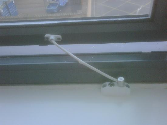 Premier Inn Andover Hotel : health and safety gone above comfort ... mad???