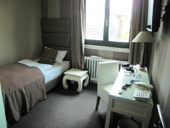 Hotel Klemm: Ein Einzelzimmer ist ein Einzelzimmer - trotzdem sehr gemütlich
