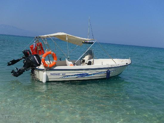 Plessas Palace Hotel: Hired Boat