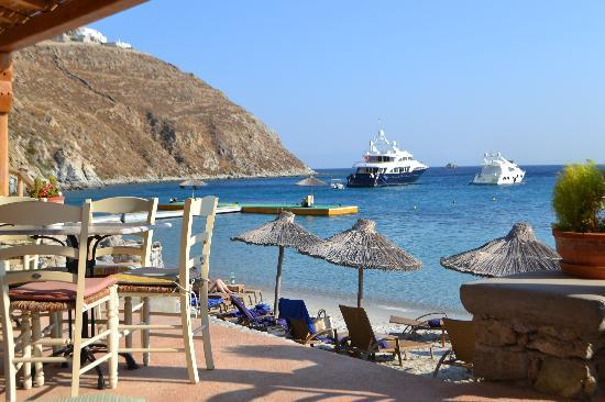 Santa Marina - A Luxury Collection Resort: view from pool bar