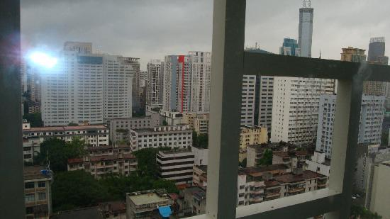 Sichuan Business Hotel: View from outside our room