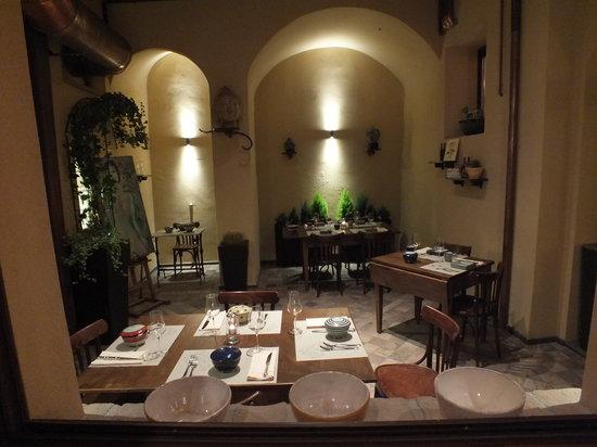 San Severino Marche, อิตาลี: il cortile interno