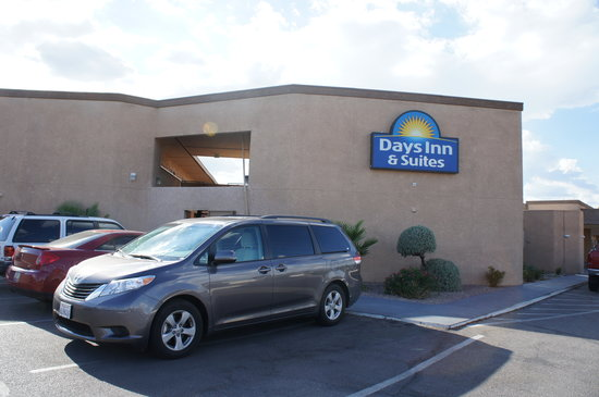 Days Inn & Suites Tucson AZ: ホテル外観です