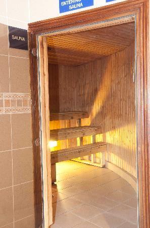 Seven Oaks Hotel: Sauna