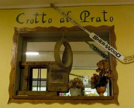 Crotto al Prato : Ristorante interno