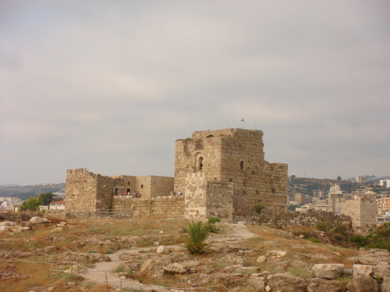 Byblos, Líbano: The castle
