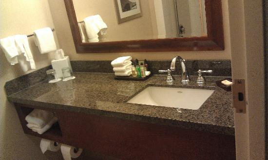 Portland Marriott City Center : bathroom