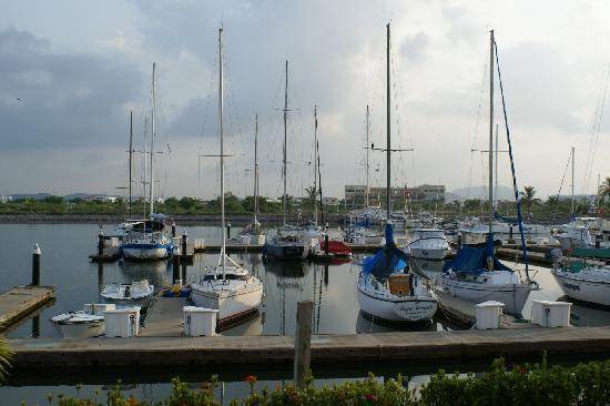 Isla Mazatlan Golden Resort: View from our Villa