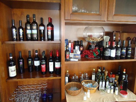 Hotel Ristorante Il Colleverde: selezione di vini