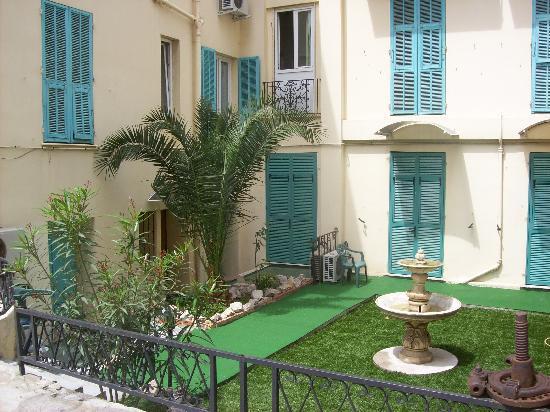 Hotel Carlone: Le jardin