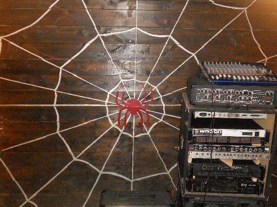 Casbah Coffee Club: spider room