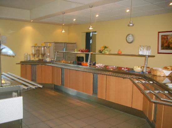 Youtel 1202 Jugendhotel Bitburg : Das Buffet