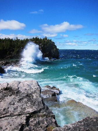 Taylor-Made B&B: Halfway Rock Point, Bruce Peninsula