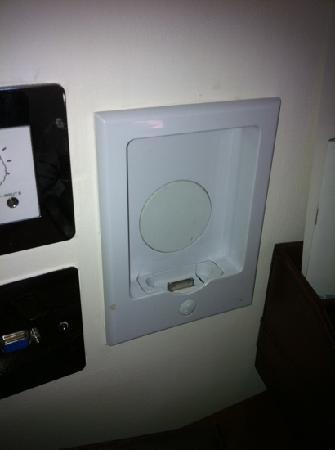 โรงแรม เดอะ รอยัล เฮาส์การ์ด: iPod dock (does not charge iPhones)