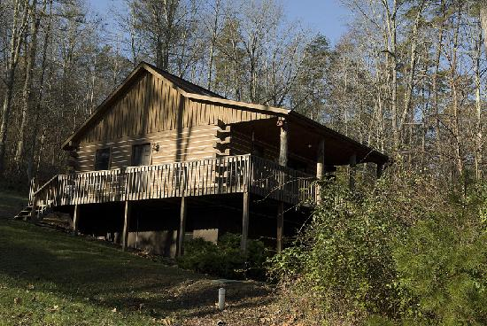Chalets in Hocking Hills: Blackjack Cabin