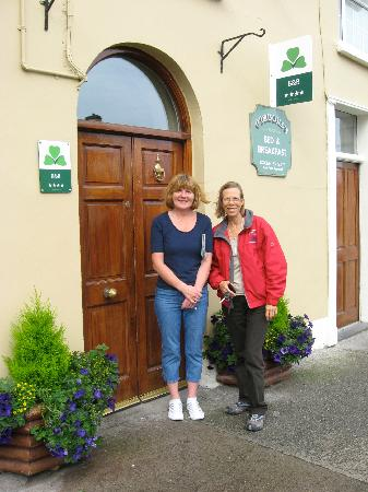 O'Driscoll's Bed & Breakfast: Estelle wished us well as we continued on our journey.