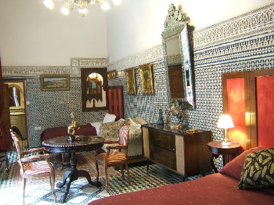 Riad Damia: Saila - triple a grand lit et petit lit