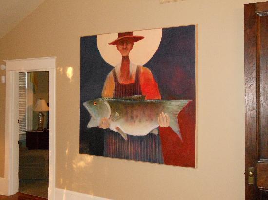 Clark House: McCuddin painting