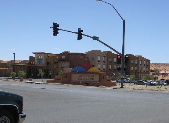 Moenkopi Legacy Inn & Suites: from the street