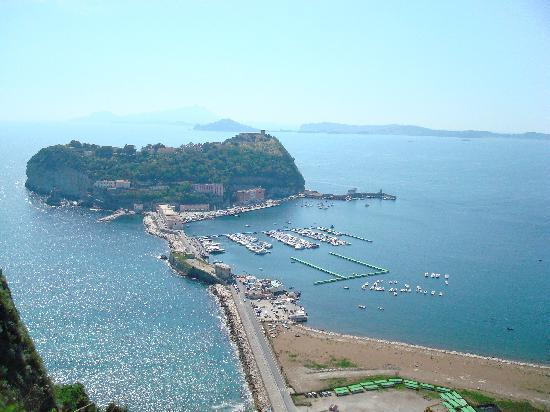 Naples, Italy: Nisida dal parco Virgiliano a Napoli