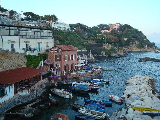 Naples, Italy: porticciolo di Marechiaro a Posillipo
