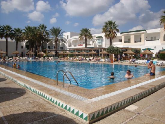 Hammamet Beach : Une des piscines