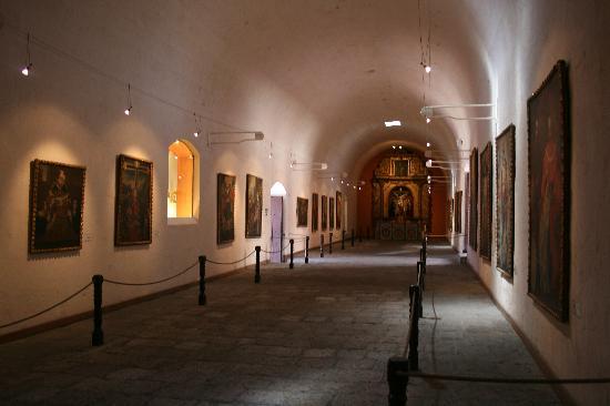 อารามซานตาคาตาลินา: Portrait Hall