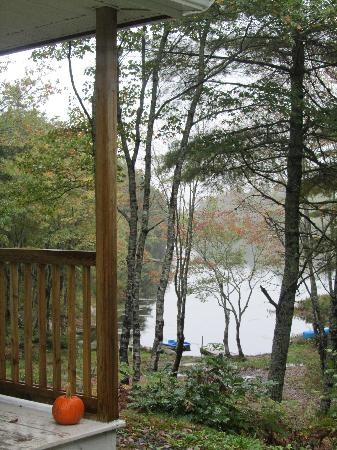 Roseway River Cottages: from my deck