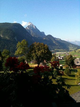 Steigenberger Alpenhotel and Spa: Blick aus unserem Zimmer