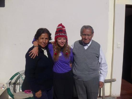 Casa de Dina: Avec Dina et Raimondo