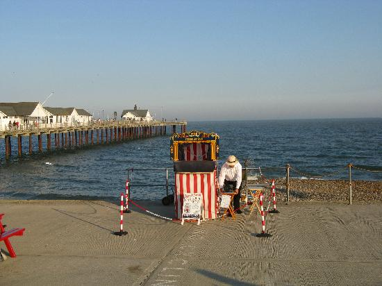 The Swan Hotel: The Punch and Judy Man, Southwold