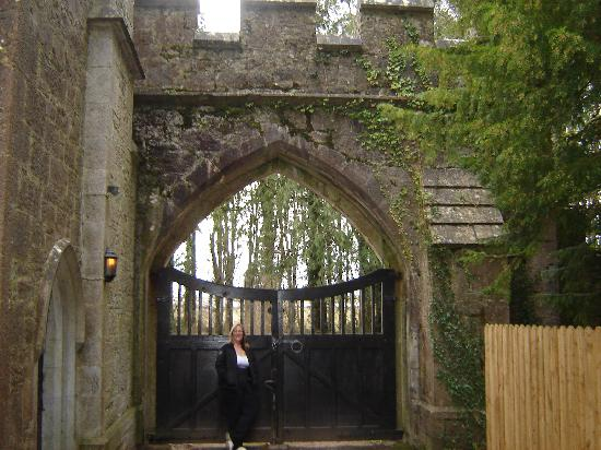 Anne's Grove Gardens: Gates, from inside the grounds