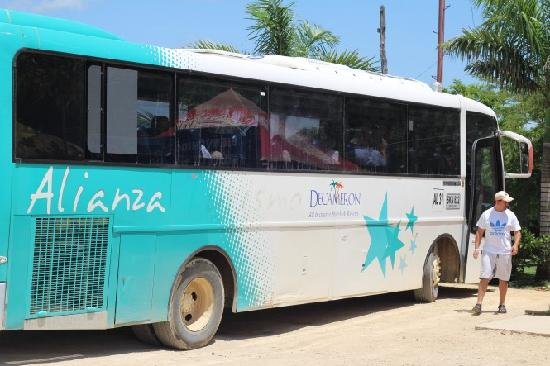 Royal Decameron Baru: Bus decameron